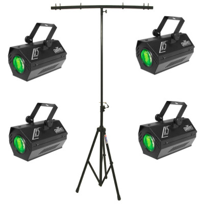 4-LX-5-Dance-Floor-Moonflower-Sound-Activated-LED-Chauvet-Light-with-T-Bar-Stand-Package-Combo-detailed-image-1
