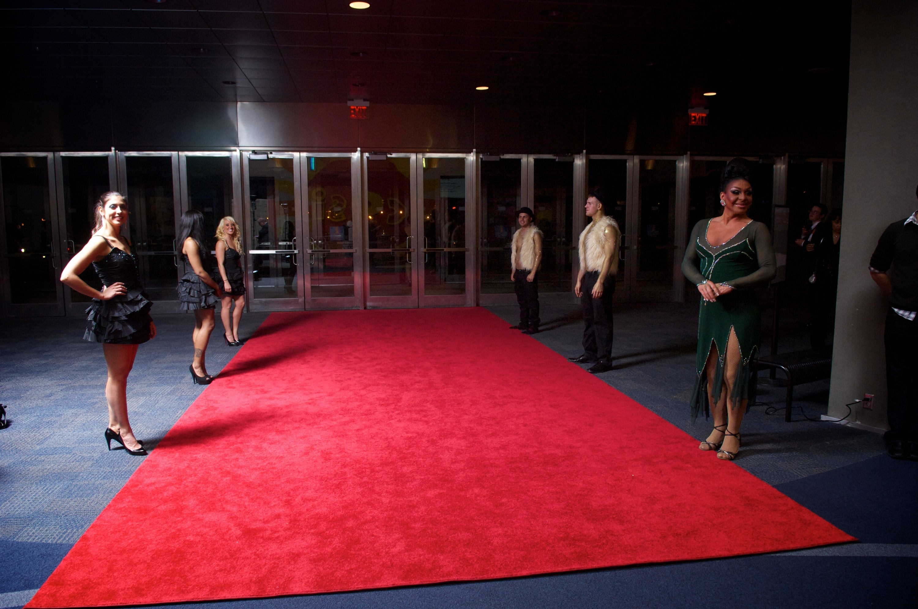 12 Wide X 30 Long Red Carpet Apex Event Pro