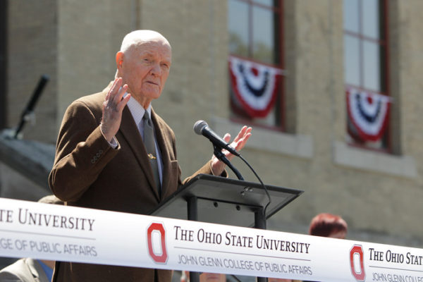 John Glenn Ohio State College of Public Affiars