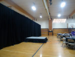 stage and backdrop drapes for rent in ohio at apex event production