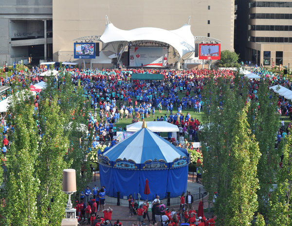 ohio heart walk audio by apex event production