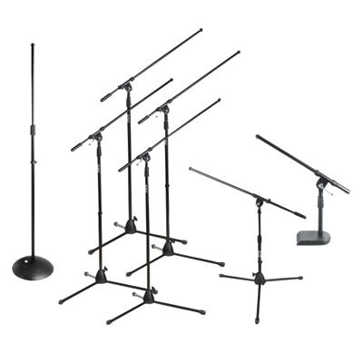 microphone stands for rent in ohio at apex event pro