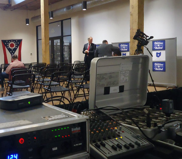 rent audio equipment in ohio at apex event production