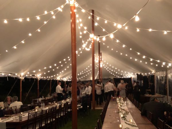 rent bistro lights in columbus ohio for your wedding at apex event pro
