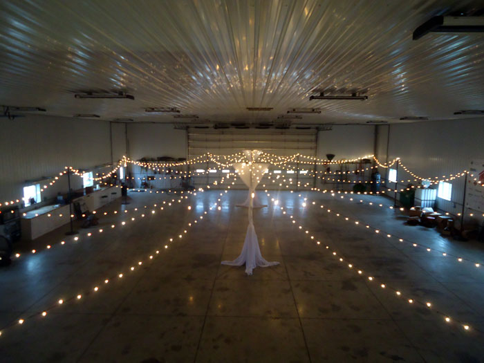 rent wedding bistro lights in delaware ohio at apex event pro