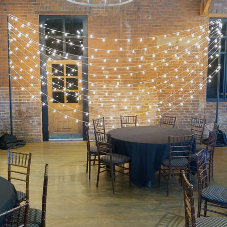 rent bistro lights in ohio at apex event production