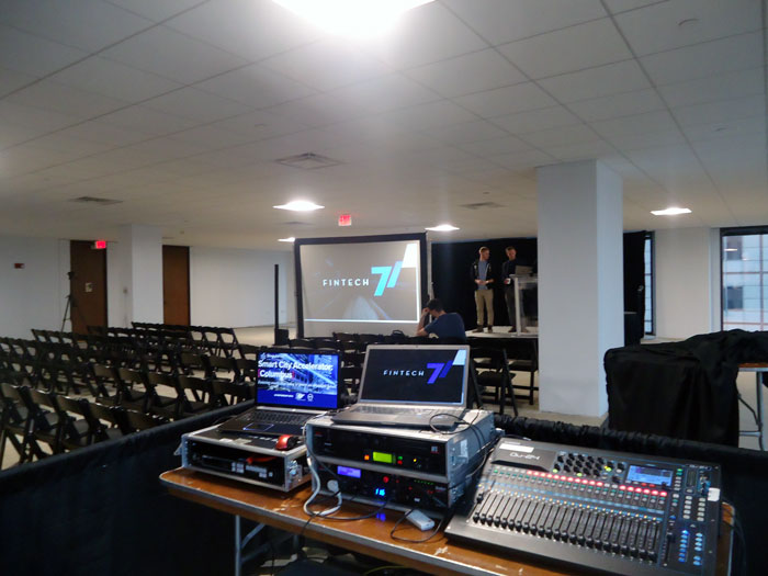 rent video and audio equipment in columbus ohio for your event through apex event production
