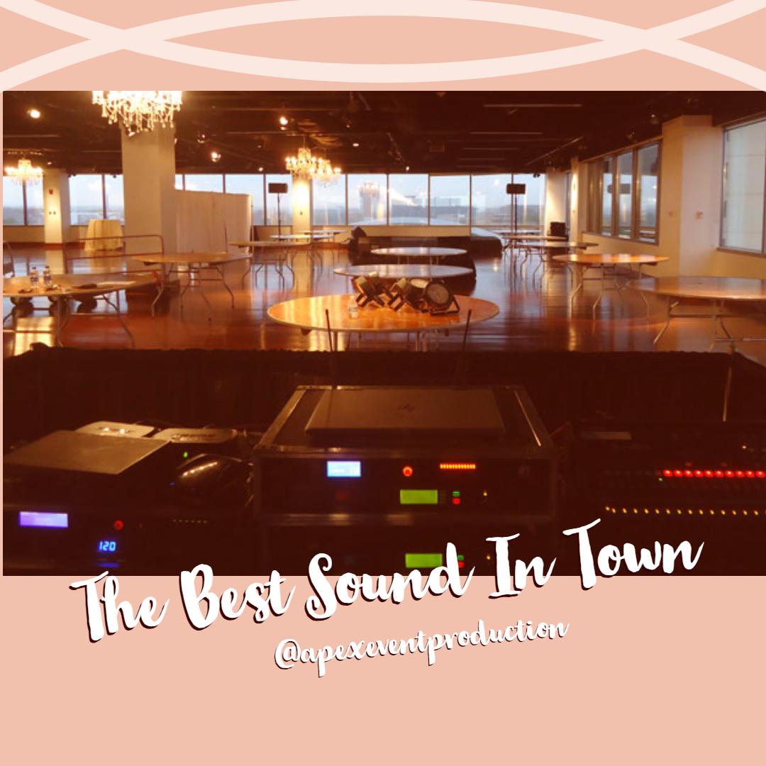 rent sound equipment in columbus ohio at apex event pro