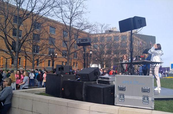 rent dj equipment and speakers in columbus ohio at apex event pro