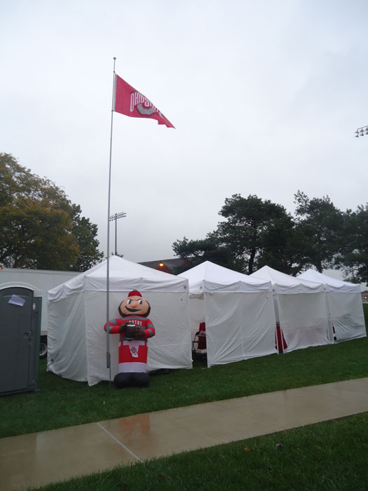Cheer On The Ohio State Buckeyes With Apex : ohio state canopy tent - memphite.com