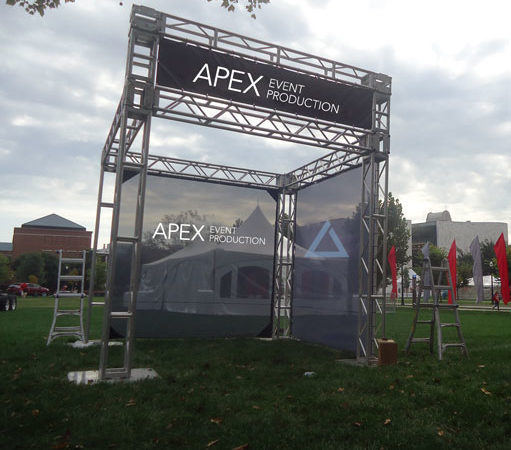 rent truss in columbus ohio at apex event pro