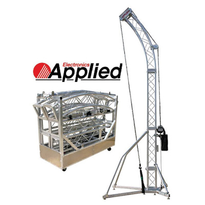 speaker truss for rent in ohio at apex event pro