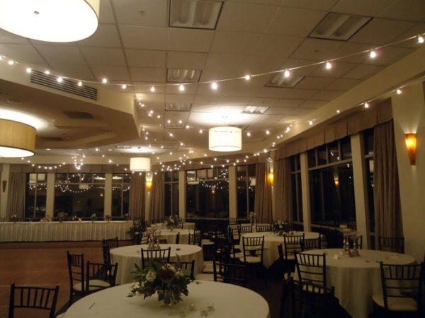 rent bistro lights and wedding decorations in ohio at apex event production