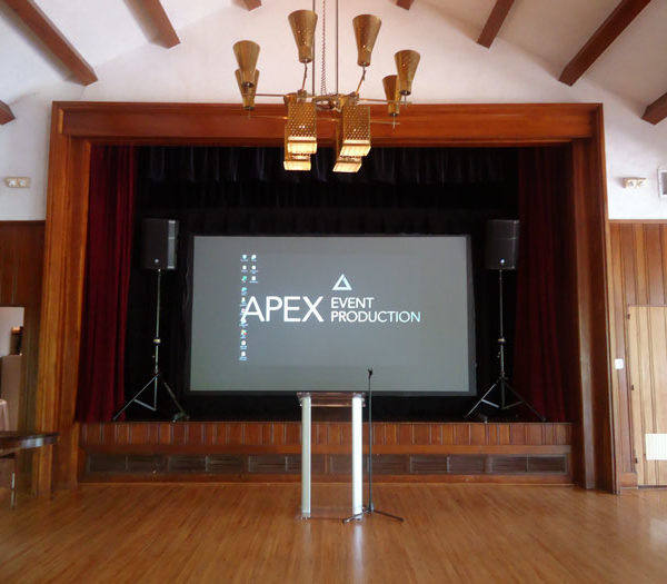 rent a rear view projection screen in columbus ohio