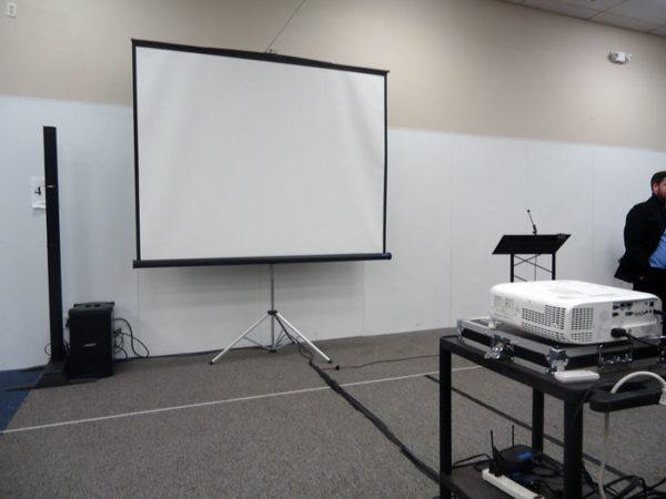 rent projector in ohio at apex event production