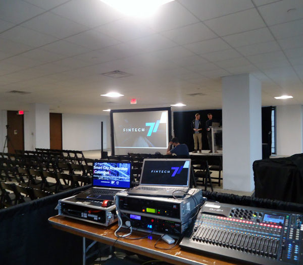rent video and audio equipment in ohio at apex event production